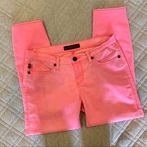 🦋 Rock & Republic Hamburg Jeans, neon pink size 8